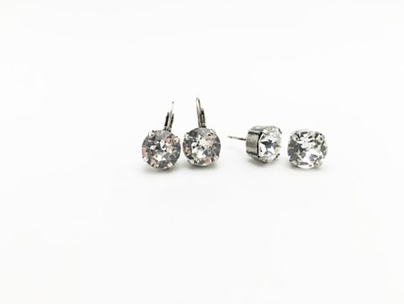 10mm Crystal Earrings